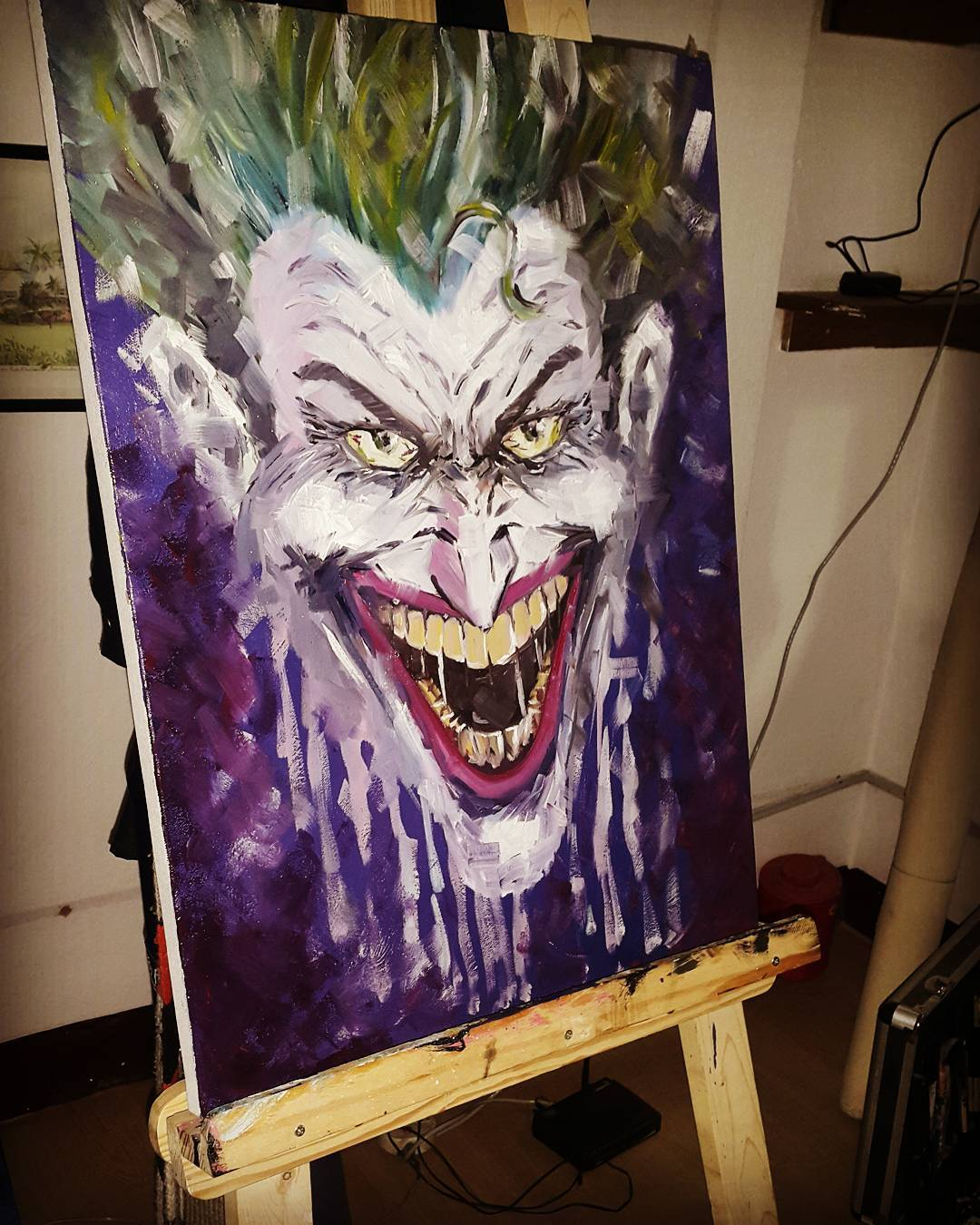 Joker Painting, Tattoo Artist in Nepal