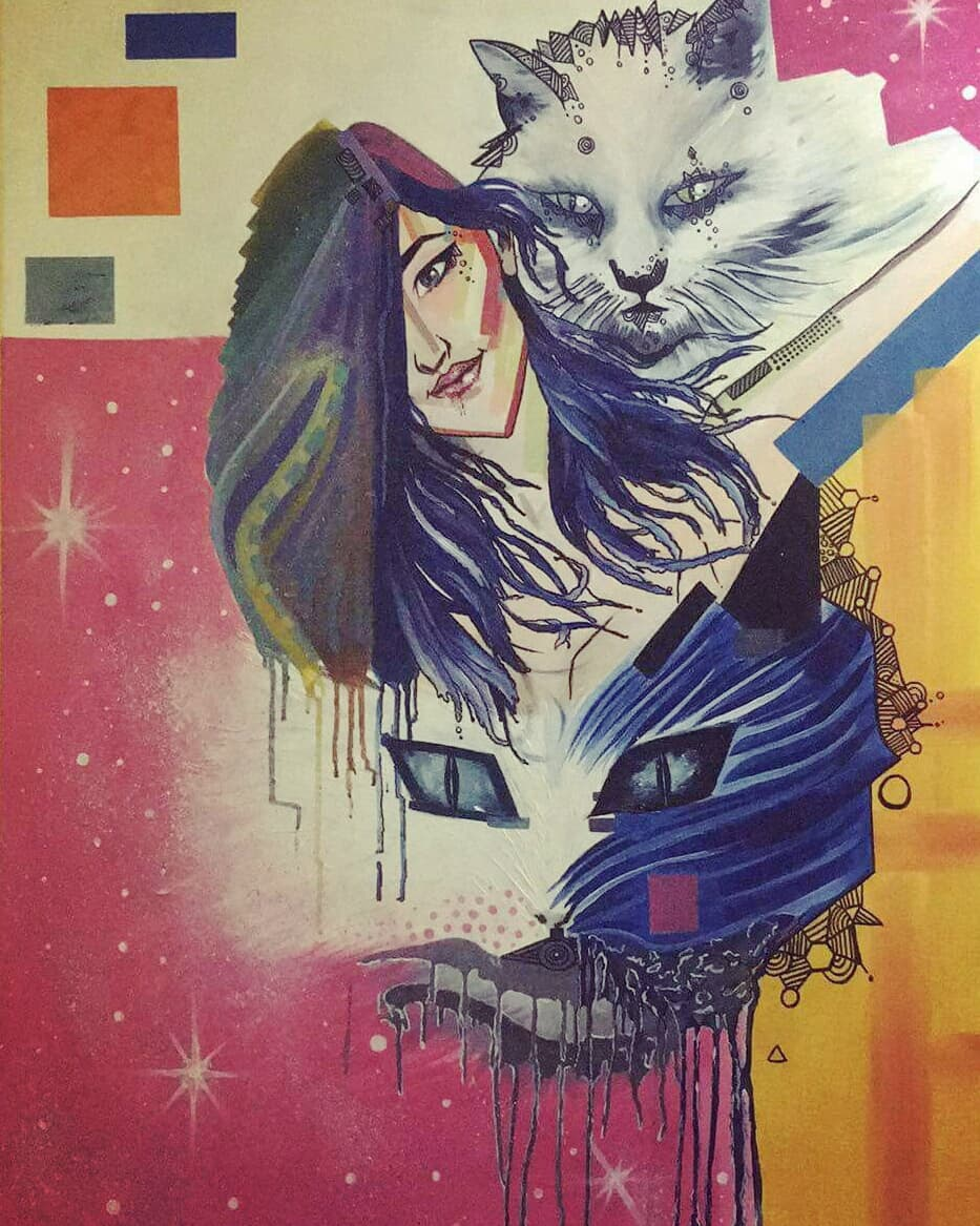 Wall Art By Sumina Shrestha, Tattoo Artist in Nepal