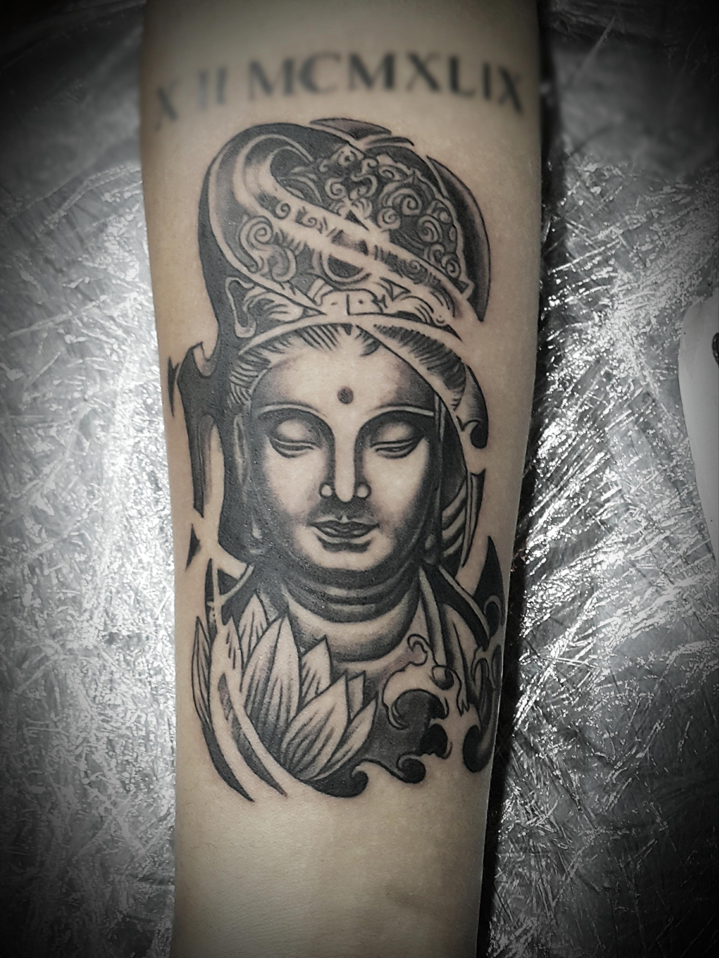 Buddha Sleeve Tattoo, Tattoo Artist in Nepal