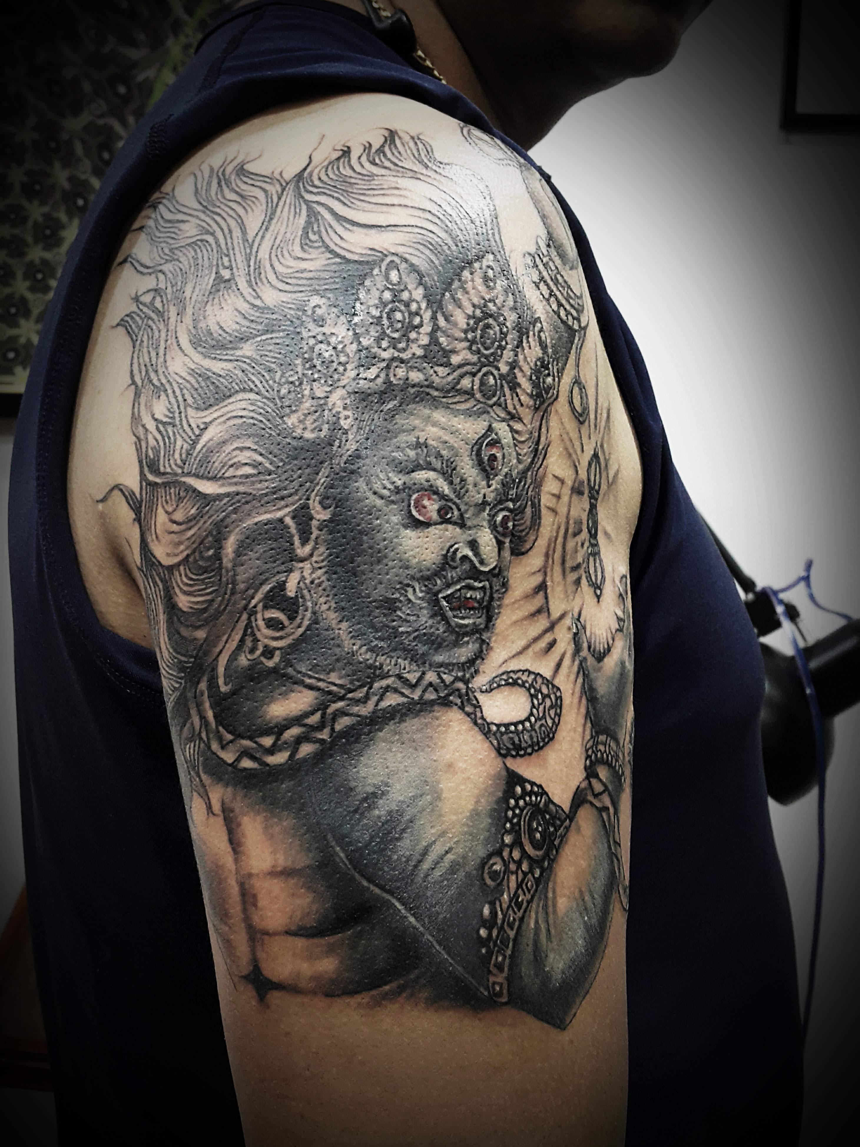 Kaal Bhairav Tattoo, Tattoo Artist in Nepal