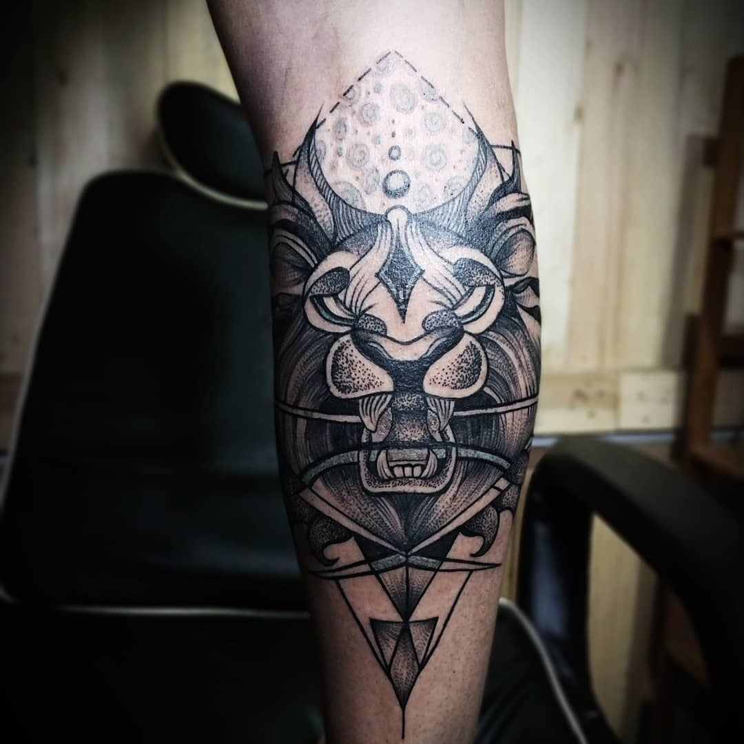 leo tattoo in nepal