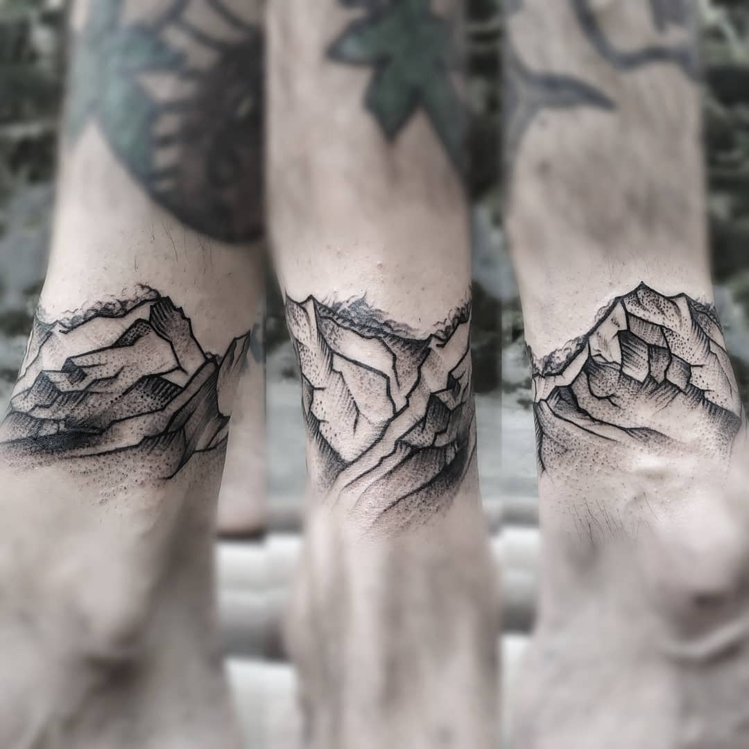 Mountain Tattoo in Nepal, Sumina Shrestha