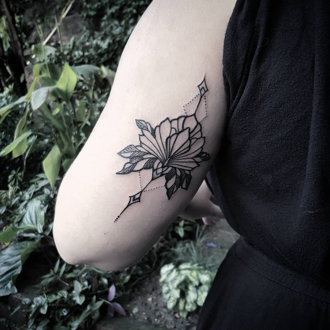 Flower Tattoo Nepal - Sumina Shrestha